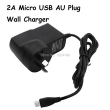 Universal AU Plug 5V 2A Quick Charger Micro USB Cable Wall Travel AC Rapid Australian Charging Adapter For Android Phone Tablet