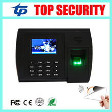 Buy TCP/IP zk biometric fingerprint MF IC card time attendance time recorder 3 inch color screen linux system TCP/IP time clock for $185.00 in AliExpress store