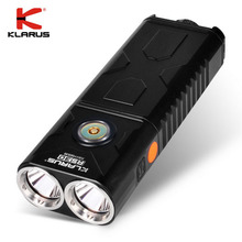 Factory Price KLARUS RS30 Brightest Light Compact and Lightweight Dual Head USB Rechargeable Tactical Flashlight
