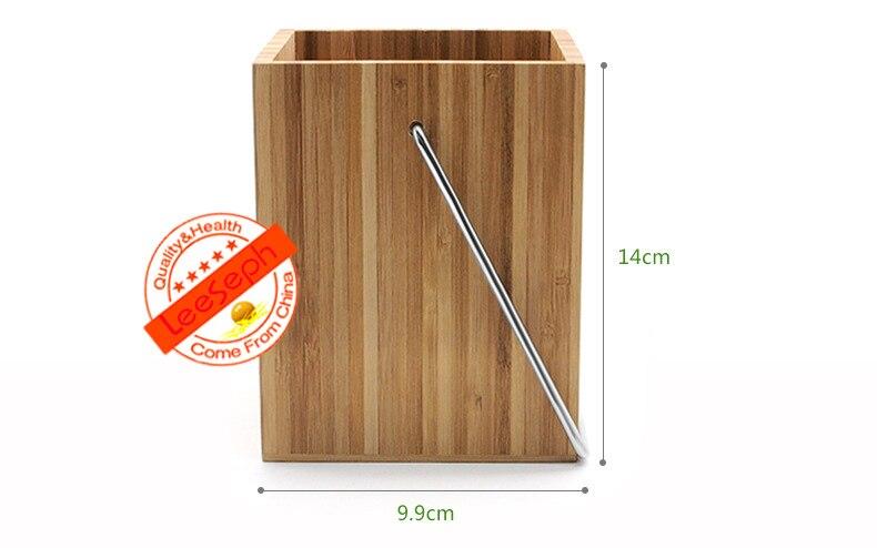 Wood Kitchen Utensil Holder