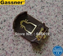 500pcs/Lot, SMT CR2032 Coin button battery holders battery socket clips for CR2032 CR2025 coin cells(China)
