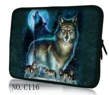 "Wolfs 100+ Color 17"" 17.4""sleeve Laptop bag Notebook Case Computer PC Cover Handle Pouch for Sumsung Dell Sony ASUS(China)"