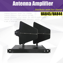 Free Shipping UHF Antenna Distributor UA845 Microhone Splitter Collector for Wireless Microphone System UA844 Amplifier(China)