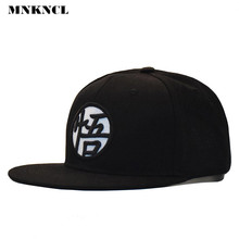 2017 New arrival Adjustable Dragon Ball Z Goku Baseball Cap Japan Anime Hat Flat Costume Snapback(China)