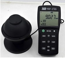 FREE SHIPPING TES-133 Luminous Flux Meter,Auto ranging from 0.05 to 7000 lumens TES133
