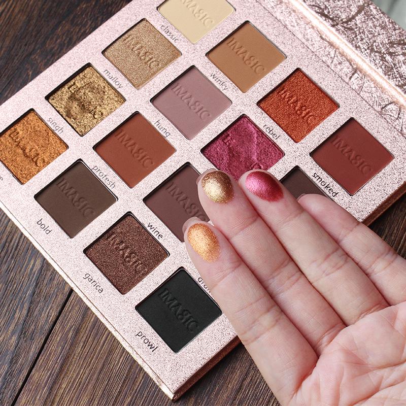 IMAGIC Nouvelle Arrivée Charme 16 Couleur Palette Make up Poudre 7