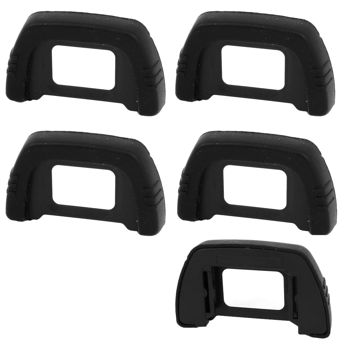 5 pieces DK-21 Viewfinder Eyepiece Camera Eye Nikon D7000 Digital SLR Camera D600 D200 Black