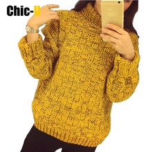 New Fashion Women elegant heart pattern pullover O neck long sleeve knitwear stylish Casual Slim knitted sweater Tops(China)