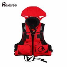 Outdoor Unisex Adult Life Jacket L-XXL Fishing Safety Life Vest For Water Sport Drifting Boating Sailing Kayak Survival Swimwear(China)