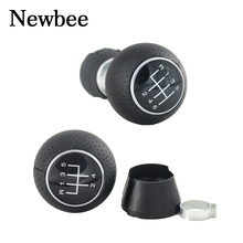 Newbee New Black 5 / 6 Speed Gear Shift Knob Stick Handle Ball Head For Audi A3 S3 2000 2001 2002 2003 Car Styling 13mm(China)