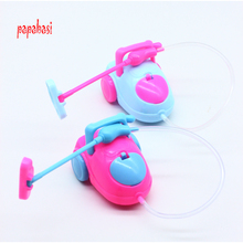 Doll Accessories Super cute Vacuum Cleaner Doll Furniture For Barbie Doll Baby Toys(China)