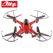 Attop A8 4CH 6-Axis Gyro 2.0MP Camera RC Quadcopter 360 Degree Flips Aircraft Drone Toy Equipped With High and Low Speed Mode