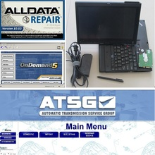 2017 New Win7 alldata 10.53 software+Mitchell repair data 2015+ATSG +X200t touch screen laptop installed well Ready to work(China)