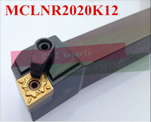 MCLNR2020K12 CNC turning tool holder,indexable lathe toolsl, MCLNR/L External Lathe Cutting Tool for CNMG120404/08 Inserts