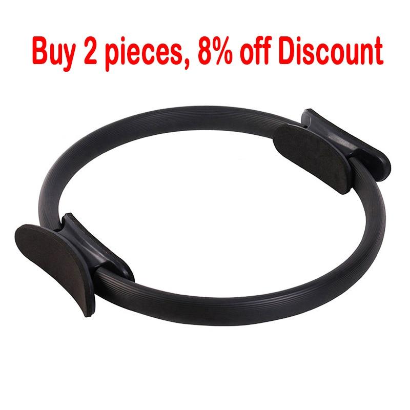 Dual Grip Pilates Ring Magic Yoga Circle Exercise Fitness Equipment Dharma Wheel Slimming Gym Center Sport Workout Training Tool (5)