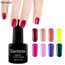 Sarness 29 Colors Gel Nail Polish Candy Color UV Gel Varnish Soak-off LED Lamp Nail Gel Enamel Permanent(China)