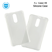 For Cubot R9 Silicone Case Soft Transparent Protective Back Cover  Anti-knock Shell For Cubot R9 Mobile Phone Accessories Part