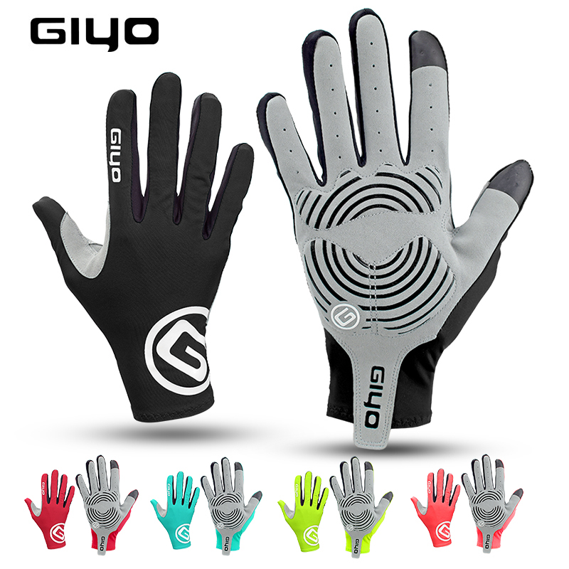 GIYO Outdoor Sports Cycling Gloves Half Finger Bicycle Racing Anti-skid 1 Pair