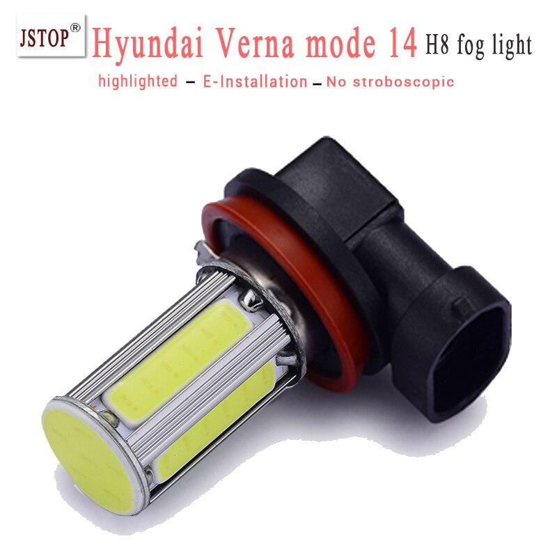 Verna mode14 H8 led Lamp fog light canbus white led 12V Automobile H8 fog lamps 24V Car led 6000K 12V canbus led External Lights<br><br>Aliexpress