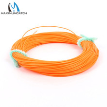 Maximumcatch 0.9mm Fly Fishing Line Yellow Color 100FT Running Fly Line