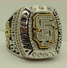 Wholesale 2014 San Francisco Giants Major League Baseball Zinc Alloy silver plated Custom Sports Replica Fans Championship Ring