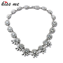 Women Summer Party Necklace KISS ME New Arrival Bridesmaid Brand Jewelry Factory Wholesale