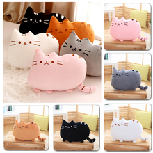 Plush Toy stuffed Animal Doll Anime Toy 25cm Pusheen Cat for Girl Kid Kawaii Cute cushion Car Decoration Brinquedos(China)