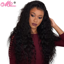 Mshere Hair Indian Water Wave Human Hair Extensions 100% Non Remy Hair Weave bundles 1piece Can Be Dyed Thick And Full Natural