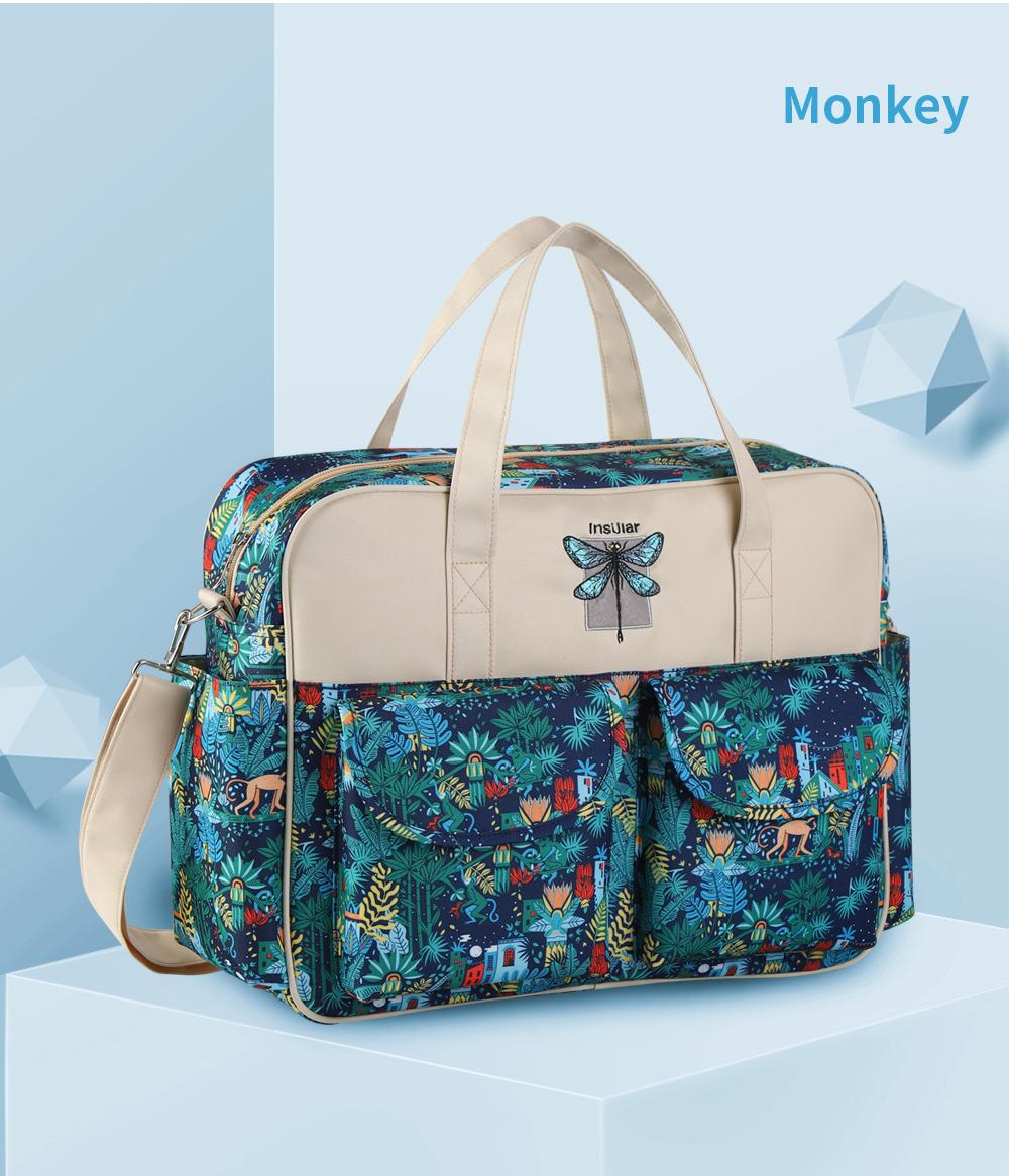 Waterproof Multifunctional Diaper Bag 20