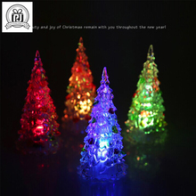 2017 Romantic Polypropylene Plastic Colors Candle Shape LED Christmas Trees Candle Light For Wedding Party Holiday Decoration