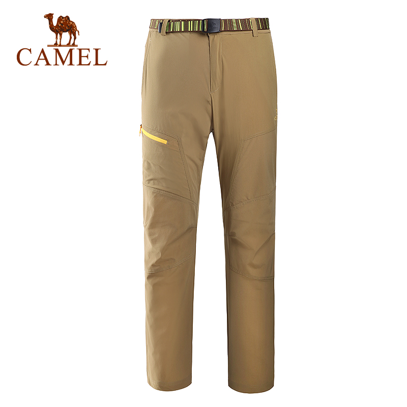 Camel Outdoor Skin Pants 2016 New Designer Quick-drying Men Trousers Spring and Summer Breathable Camping Climbing pantA6S214120<br><br>Aliexpress