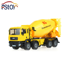 Metal Alloy Diecast Concrete Lorry Truck Model Mixers Truck 1:50 Cement tanker Engineering Truck Collection Toy(China)