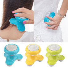 Hot Selling Mini USB Battery Full Body Massage Wave Vibrating Electric Handled Massager Best Selling