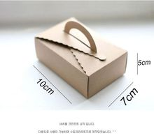 Small Kraft Packing Box,Food Packing Box,Hand Cake Paper Box,Candy Box 50pcs/lot(China)
