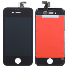 Grade A Quality For iPhone 4S LCD Screen and Digitizer Assembly with Frame Free Shipping(China)