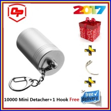 10000 gs portable eas mini pocket detacher,security tag remover +eas mini detacher hook