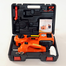 hot sale tyre change tools auto lifting jack with impact wrench and air compressor inflating(China)