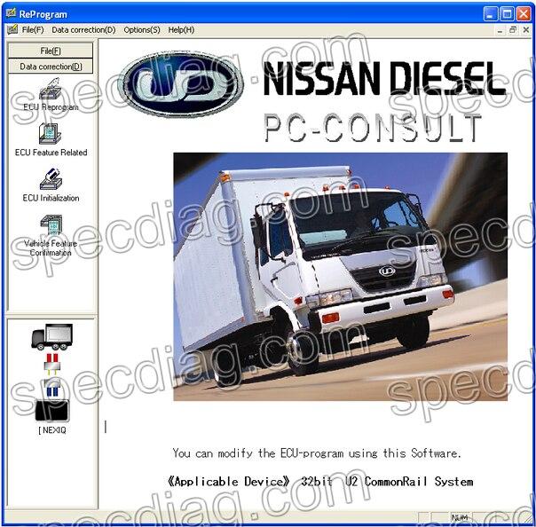forNissan UD Diesel America - UD DataLink 3.01 (Diagnosis &amp; Reprogram)<br><br>Aliexpress