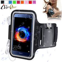 Sport Arm Band Jogging Case for Huawei Honor 8 Pro , V9 / Enjoy 7 Plus / Nova Lite / P10 Lite / Mate 9 Waterproof PU Leather Bag