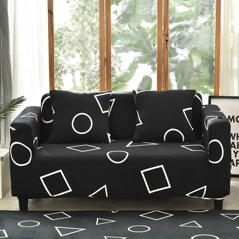 Arsenic Geometric sofa cover