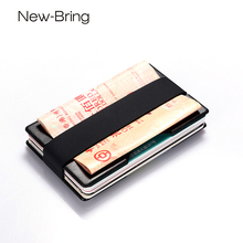 NewBring Smart Slim Credit Card & ID Holders Business Card Wallet Man Holder for RADIX ONE Money Clip(China)