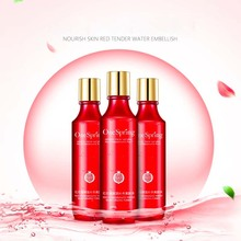 New Red pomegranate Nutritous Moisture Face Toner Mild Skin Tonic Simple Smooth For Dry Oily Sensitive Combination Skin Women(China)