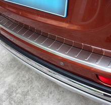 ACCESSORIES FIT FOR MITSUBISHI OUTLANDER 2013 2014 REAR BUMPER PROTECTOR STEP PANEL BOOT COVER