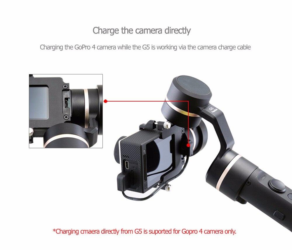 FeiyuTech Feiyu G5 Splash Proof waterproof 3-Axis Handheld Action Camera Gimbal For GoPro HERO 6 5 4 3 3+ Xiaomi yi 4k SJ AEE 7