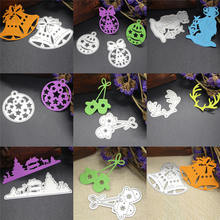 7style Metal Cutting Dies Stencil Merry Christmas Merry Christmas Letters Scrapbooking Dies DIY Album Paper Card Maker Craft Die