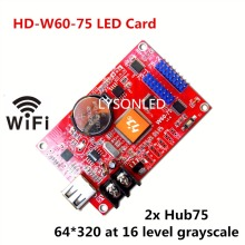 LYSONLED HD-W60-75 (2x Hub75 Ports) Support static to 1/16 Scan Full Color Display LED Modules like P4/P5/P6/P7.62/P10/P16(China)