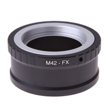 High-Precision M42-FX lens adapter for M42 screw mount lens To for Fujifilm X Camera X-T10 X-A2 X-T1 X-A1 X-E2 X-M1 X-E1 X-Pro1