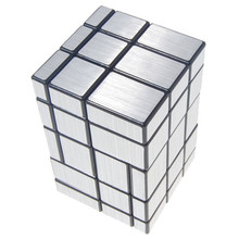 2017 New 3x3x5 Conjoined Mirror Magic Cube Black Silver Educational Toy Special Toys