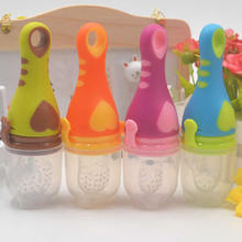 2017New Baby teat Food Bite pacifier Baby Silicone soother Baby Nipple Feeding Cup Feeder pacifier Style Complementary