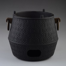 Genuine Air Furnace Water Heating Tools Carbon Charcoal Stove Diameter 14cm For Cast Iron Teapot Japanese Pot Tetsubin Drinkware(China)